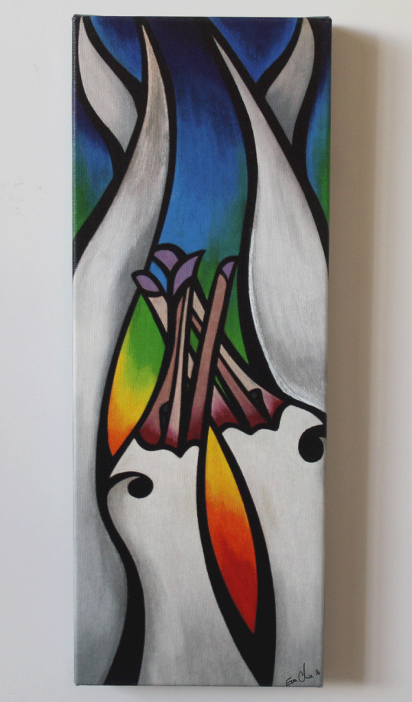 Rainbow Albatross Art